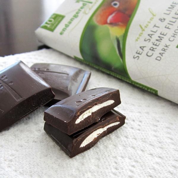 Endangered Species Vegan Creme Filled Dark Chocolate Bars ...
