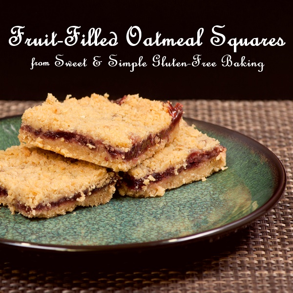 Fruit-Filled Gluten-Free Oatmeal Squares