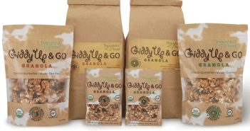 Giddy Up and Go Granola - Organic, Dairy-Free, Gluten-Free, Vegan (Single-Serve, Retail and Bulk Sizes)
