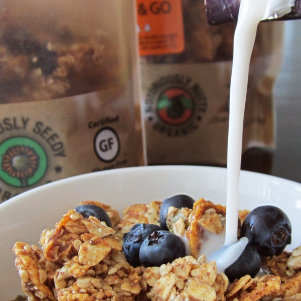 Giddy Up and Go Granola - Seriously Seedy