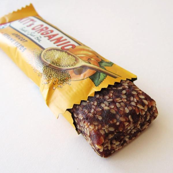Kit's Organic Fruit + Seed Bars - Apricot + Sesame Seeds