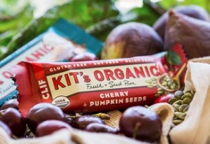 Kit's Organic Fruit + Seed Bars (vegan, dairy-free, gluten-free, no added sugars)
