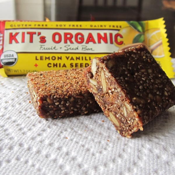 Kit's Organic Fruit + Seed Bars - Lemon Vanilla + Chia Seeds