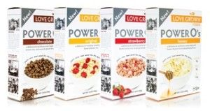 Love Grown Foods Power O's Cereal - Original, Honey, Chocolate, Strawberry (Healthy High-Protein, Low-Calorie Ingredients)