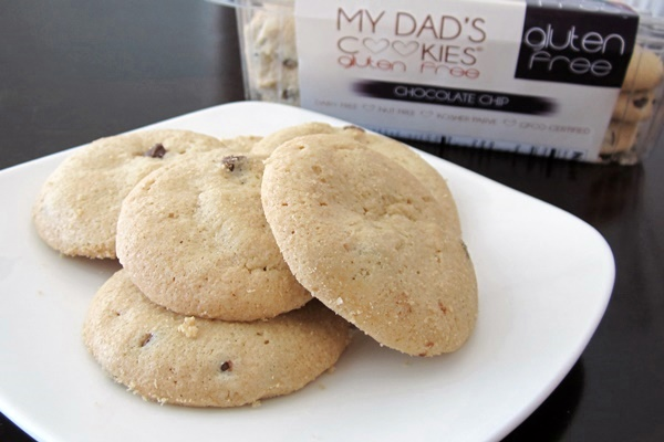 My Dads Cookies: Chocolate Chip Cookies (gluten-free, dairy-free, nut-free)