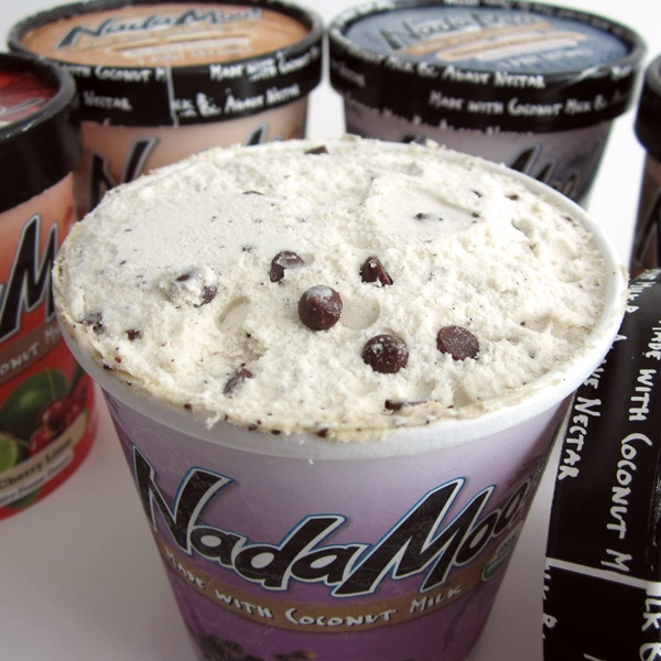 Nadamoo Ice Cream - Look at the pure luxury of the  Java Crunch! (Organic, Dairy-Free, Vegan, Soy-Free, Gluten-Free)
