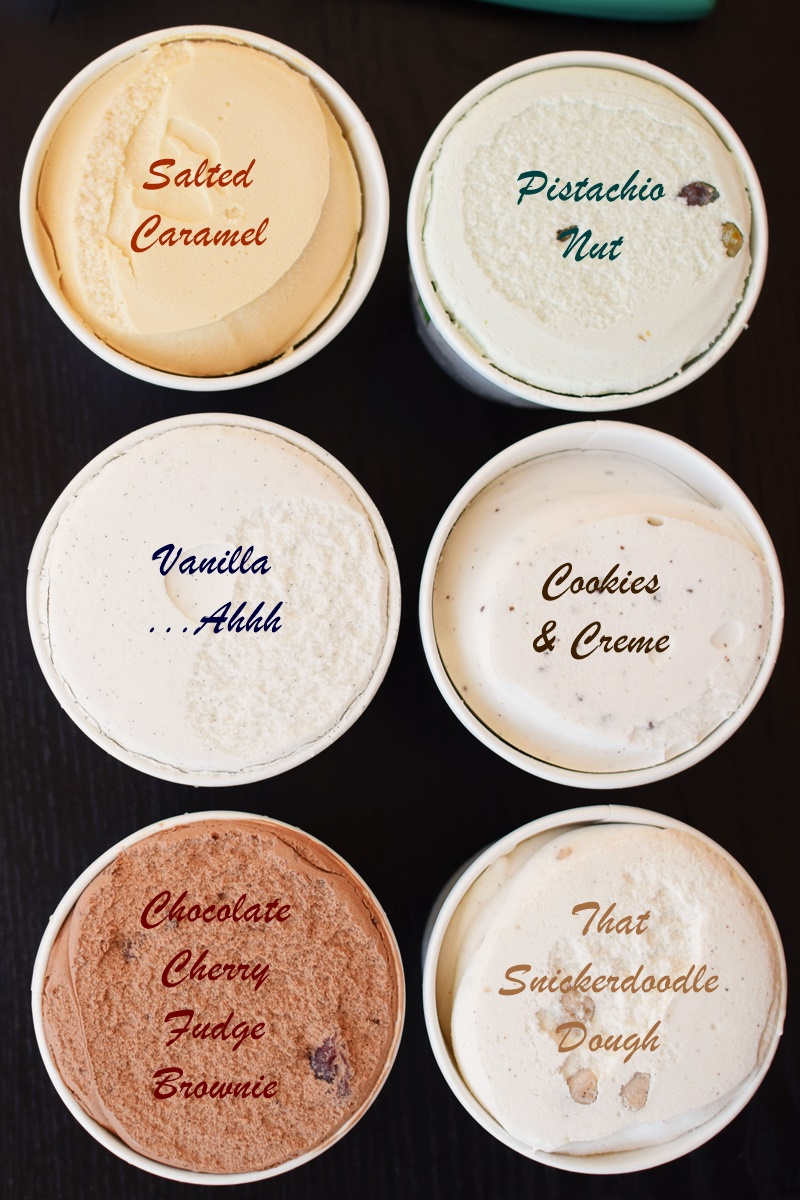 Nadamoo Dairy-Free Ice Cream - Organic, Made from Coconut Milk Frozen Dessert Pints in Several Flavors