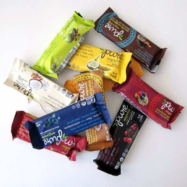 Pure Bar - Organic, Gluten-Free, Vegan, and so many to choose from!