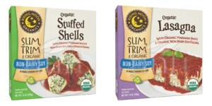 Rising Moon Organics Vegan Frozen Entrees - Lasagna, Manicotti and Stuffed Shells with Dairy-Free Ricotta