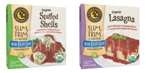 Rising Moon Organics Vegan Frozen Entrees - Lasagna, Manicotti and Stuffed Shells with Dairy-Free Ricotta