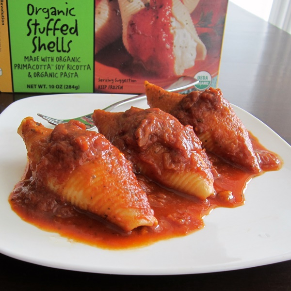 Rising Moon Organic Primacotta Frozen Entrees: Stuffed Shells with Dairy-Free Ricotta
