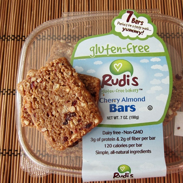 Rudi's Gluten Free Snack Bars - Cherry Almond