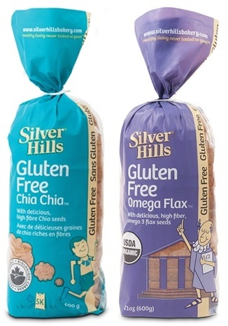 Silver Hills Bakery Gluten Free Organic Breads - Chia Chia and Omega Flax