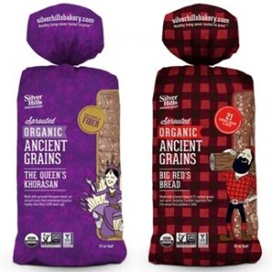 Silver Hills Bakery Sprouted Ancient Grains Breads - Whole grain and baked in a nut-free, dairy-free, and vegan facility