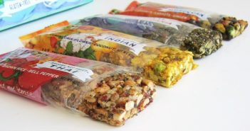 Slow Food for Fast Lives Savory Snack Bars: Moroccan, Indian, Californian, and Thai (dairy-free, gluten-free)