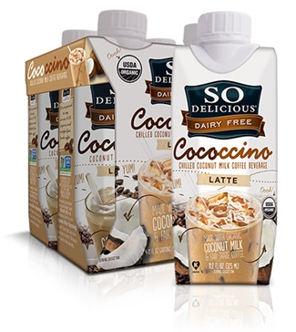 So Delicious Dairy Free Cococcino - Coconut Milk Iced Latte