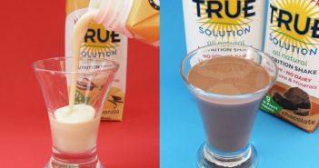 True Solution Allergen Free Nutrition Shakes - Chocolate and Vanilla Protein