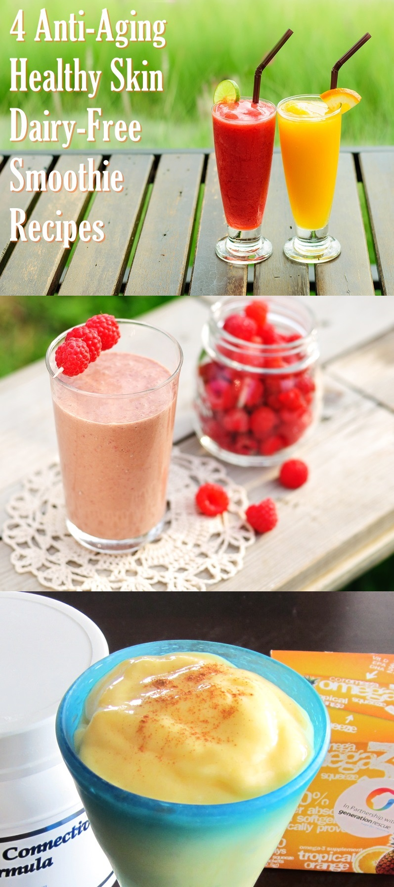 4 Dairy-Free, Anti-Aging, Healthy Skin Smoothie Recipes