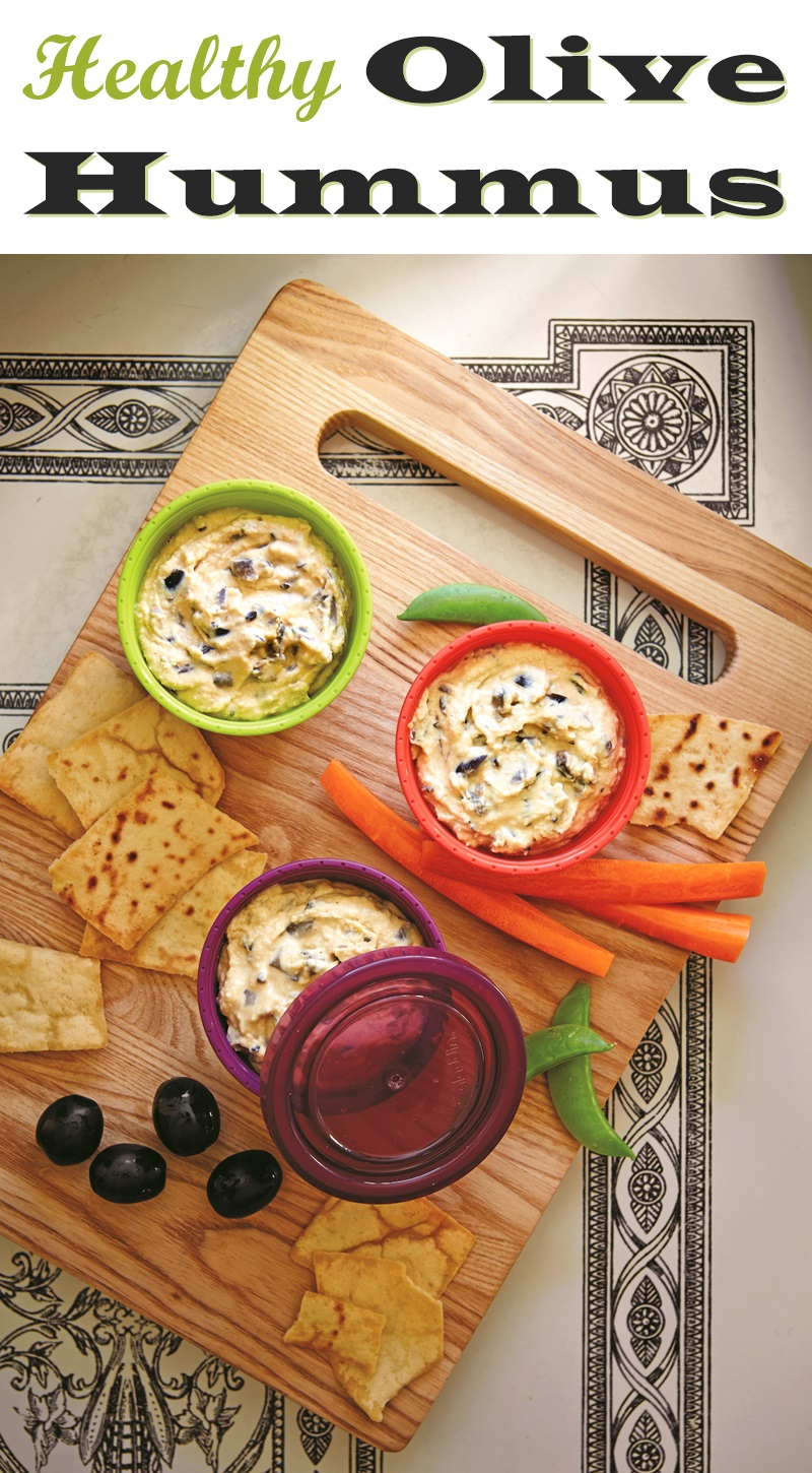 Super Olive Hummus Recipe - easy, healthy, vegan, and allergy-friendly