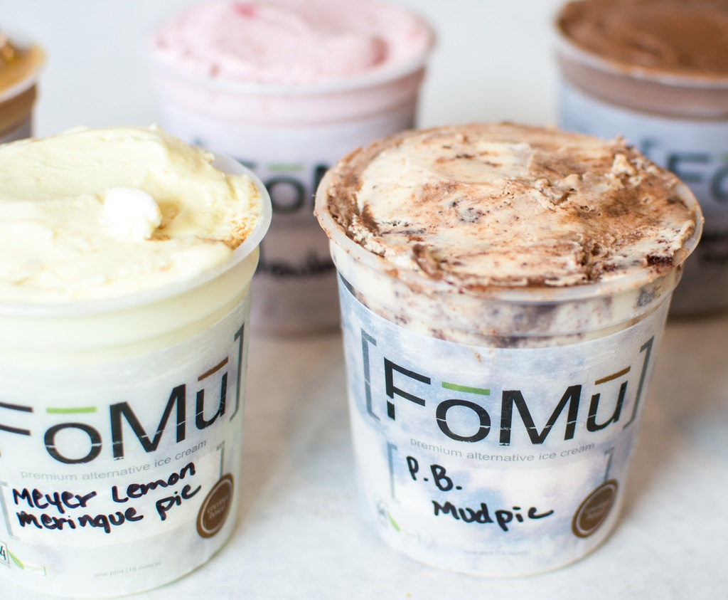FoMu Ice Cream Cafes + Bakery - they ship their dairy-free ice cream and treats throughout the United States!