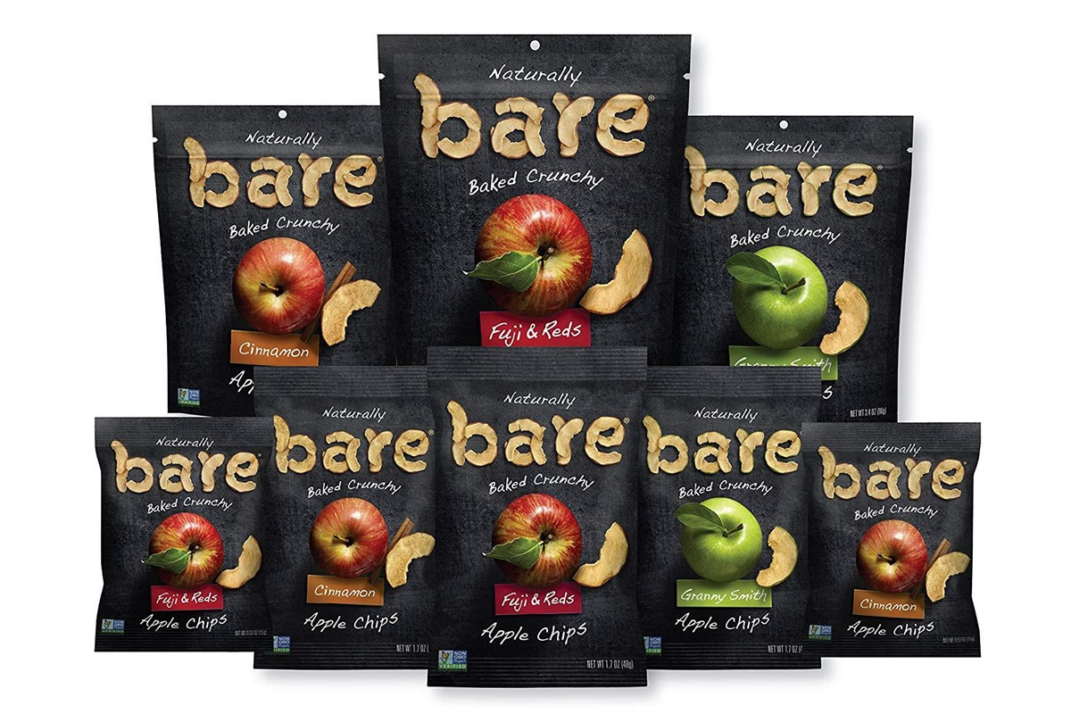 Bare Apple Chips Reviews and Info - all natural, oil-fee, vegan, and paleo friendly, with organic options