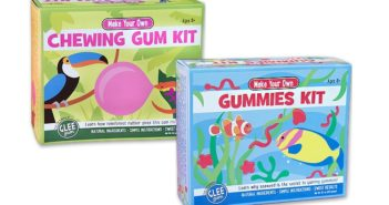 Glee Gum Kits Reviews and Info - dairy-free, gluten-free, top allergen-free, and fun for kids.
