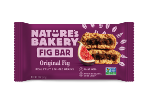 Nature's Bakery Fig Bars Reviews and Info - Dairy-free, nut-free, soy-free, vegan, and made from stone ground whole wheat - real ingredients. Pictured: Original Fig