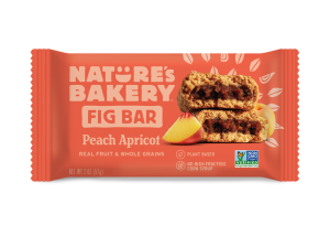 Nature's Bakery Fig Bars Reviews and Info - Dairy-free, nut-free, soy-free, vegan, and made from stone ground whole wheat - real ingredients. Pictured: Peach Apricot