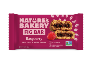 Nature's Bakery Fig Bars Reviews and Info - Dairy-free, nut-free, soy-free, vegan, and made from stone ground whole wheat - real ingredients. Pictured: Raspberry