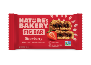 Nature's Bakery Fig Bars Reviews and Info - Dairy-free, nut-free, soy-free, vegan, and made from stone ground whole wheat - real ingredients. Pictured: Strawberry