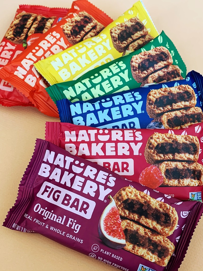 Nature's Bakery Fig Bars Reviews and Info - Dairy-free, nut-free, soy-free, vegan, and made from stone ground whole wheat - real ingredients.