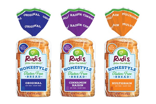 Rudi's Homestyle Gluten-Free Bread Reviews and Info: Three Varieties, All Dairy-Free and Soy-Free