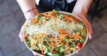 A Wild Card Salad from Heartwood Cafe in Halifax NS