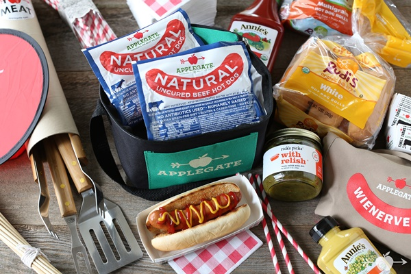 It's a Wienervention! This Applegate Giveaway is a Fun-Filled Barbecue Package with Applegate, Rudi's Organic, Annie's, and much More!