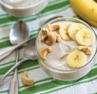 Instant Banana Cashew Yogurt