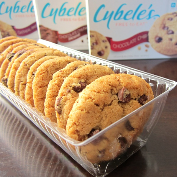 Cybele's Free to Eat Cookies (Chocolate Chip shown) - dairy-free, egg-free, gluten-free, nut-free, peanut-free, soy-free, and vegan!