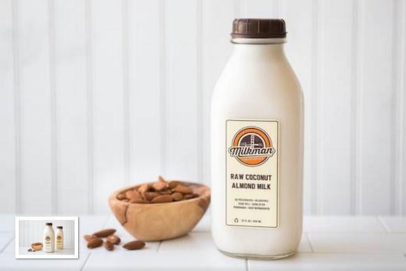 Good Eggs - Milkman Raw Coconut Almond Milk