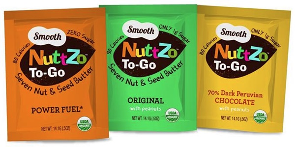 Nuttzo Organic Seven Nut & Seed Butter Single Serves