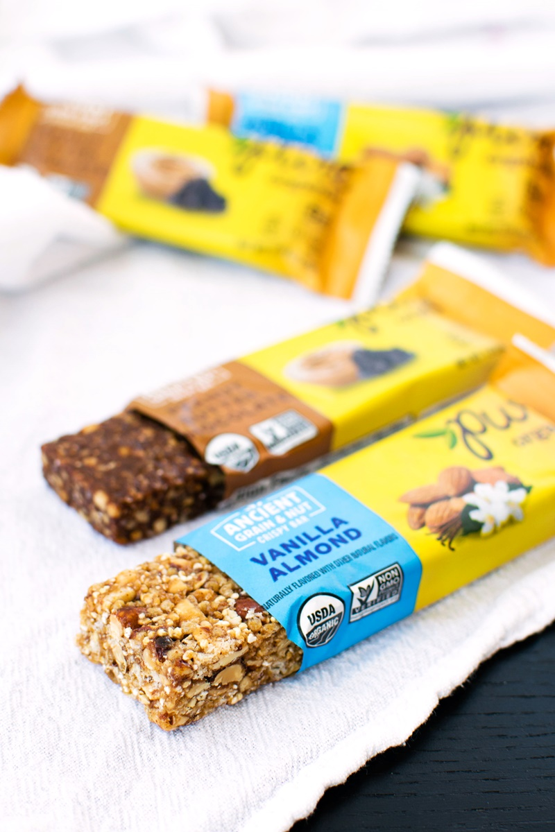 Pure Bars (Review, Ingredients & More) - Organic, Vegan, Gluten-Free Fruit & Nut Bars and Ancient Grains Bars