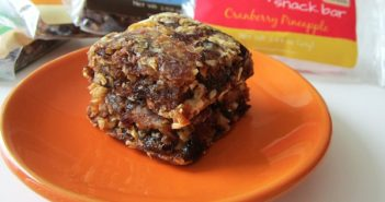 Simply Chopped Snack Bars - gluten-free, dairy-free, wholesome date + granola bar