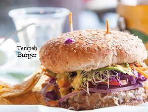 Sprouts Natural Foods Cafe - Tempeh Burger
