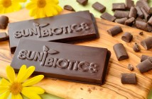 Sunbiotics Probiotic Chocolate Bars with Prebiotics (Yacon) - low-sugar, dairy-free