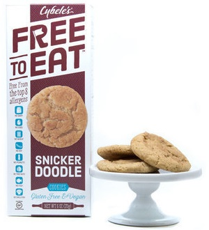 Cybeles Free to Eat Cookies: Vegan and Baked in a Gluten-Free & Top Allergen-Free Facility