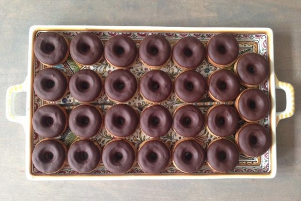 Chocolate Donuts from enVie: a Vegan Kitchen in Halifax, NS