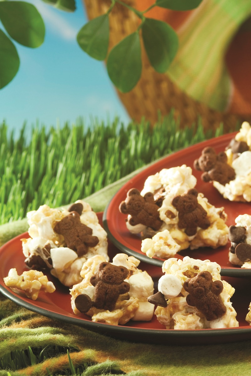 Popcorn S'more Clusters - an easy, fun treat with lots of options