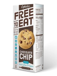 Cybele's Free to Eat Cookies Reviews and Info - Gluten-Free, Dairy-Free, Egg-Free, Nut-Free, Soy-Free Cookies that are Chewy and taste just like Homemade! Pictured: Chocolate Chip