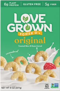 Love Grown Power O's Cereal Reviews and Info - dairy-free, gluten-free, vegan, high protein