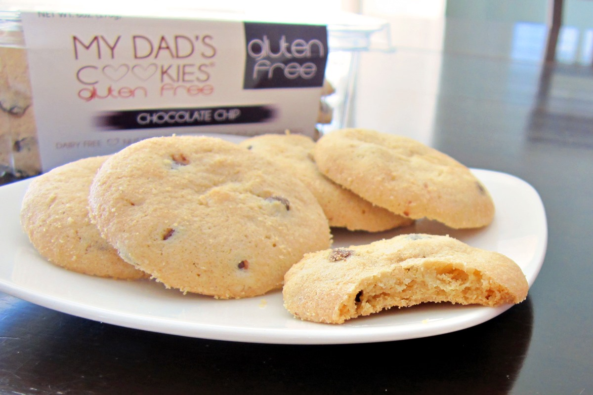My Dad's Cookies Reviews & Info - gluten-free, dairy-free, nut-free, kosher pareve - in several classic varieties - from Raspberry Linzers to Black & White