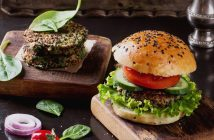 The Ultimate Guide to Vegan Burgers - dairy-free, egg-free veggie burgers (brands and recipes!)