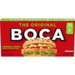 Vegan Veggie Burgers Guide (Brands and Recipes) Pictured: Vegan Boca Burger